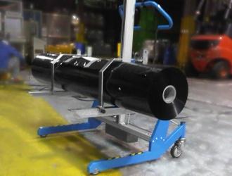 Chariot de manutention sur-mesure pour bobine