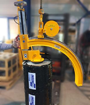 Manipulateurs mécaniques de bobine