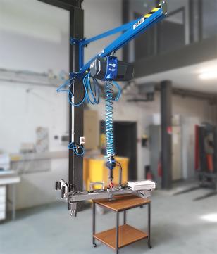 Palan électrique In-Lift avec outil spécifique