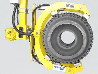 Pince pneumatique pour cylindre