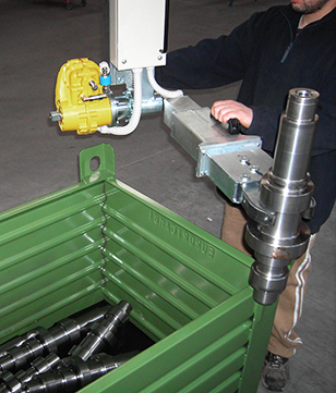 Pinces de préhension pour pièces mécaniques