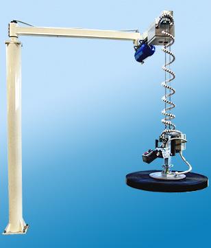 Potence pneumatique à câble