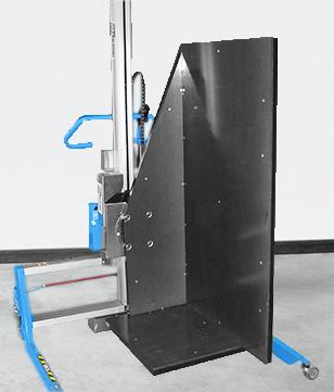 Chariot de manutention pour charges volumineuses