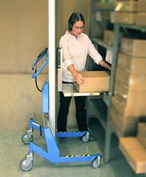 Chariot de manutention pour cartons